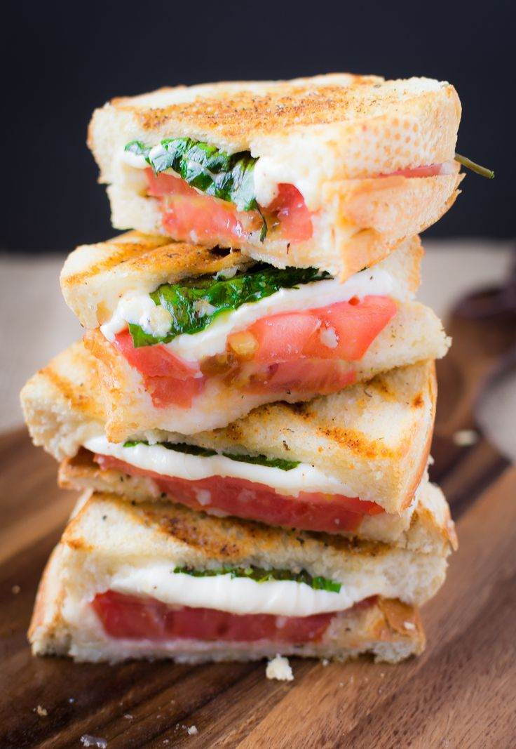 Margherita Panini with Garlic
