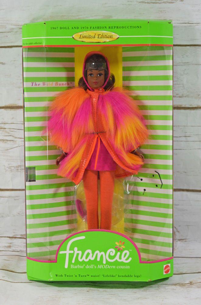#LimitedEdition Reproduction Black #Francie #Barbie #Doll #TNT NIB