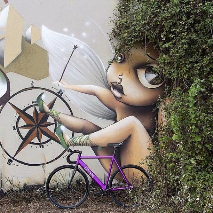 Artista de rua utiliza plantas para compor seus desenhos, veja o ...