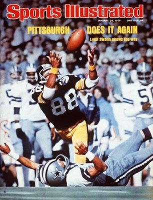 #steelers #lynnswann # superbowl Sports Illustrated Cover Super Bowl 10