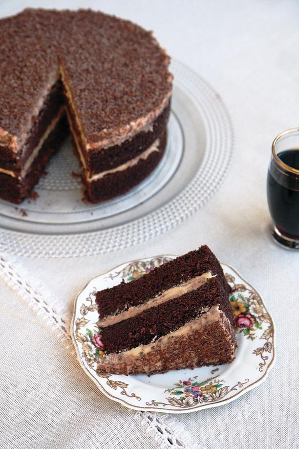 Resep | Ligtebier-en-donkersjokoladekoek