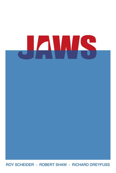 I don't know where this trend for minimalist movie posters started, but I am in love.