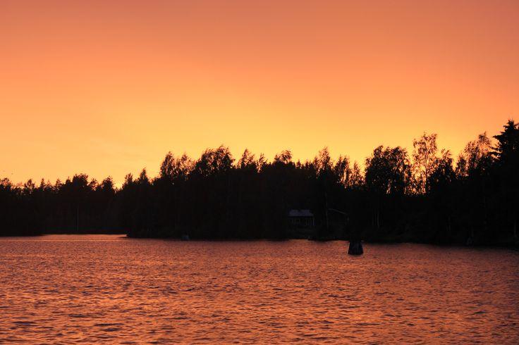 Pielinen, in the evening, Finland