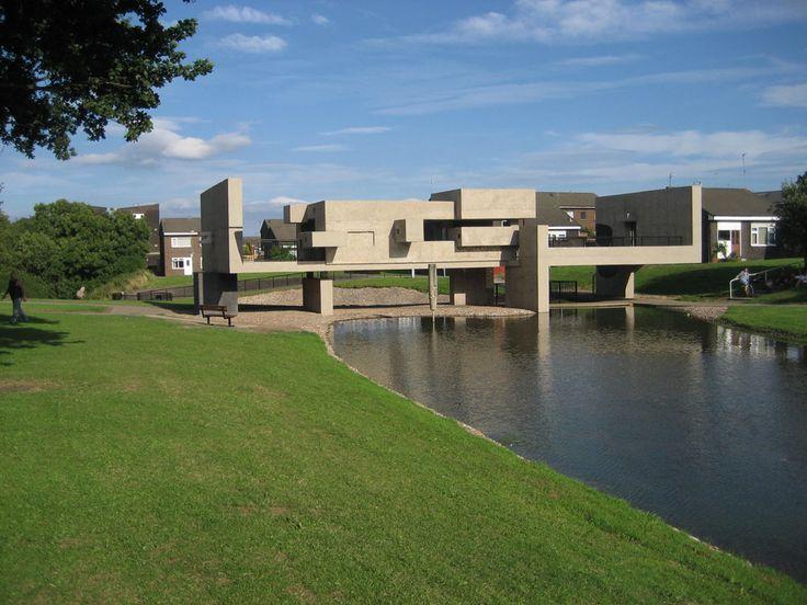 Victor Pasmore, Apollo Pavilion (designed 1969), Peterlee, County Durham