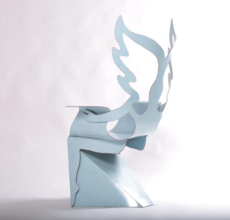 Angelic embrace chair. Designer Alexander Shvets