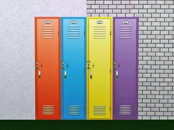 Wimmie's Set of Walls with locker