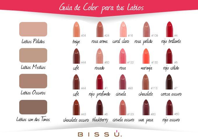 Con mi Guía de Color para tus Labios, encuentra los tonos básicos perfectos para ti.