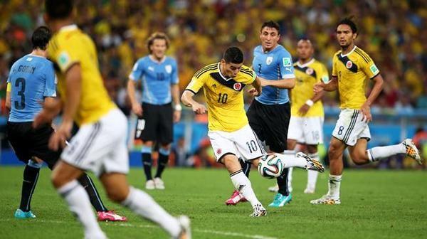 Brasil 2014: FIFA eligió gol de James Rodríguez a Uruguay el mejor del Mundial (VIDEO) #Depor