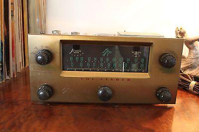 Vintage-The-Fisher-80-T-Rohren-Vorverstarker-mit-Tuner-Tube-pre-amp-amp-Tuner