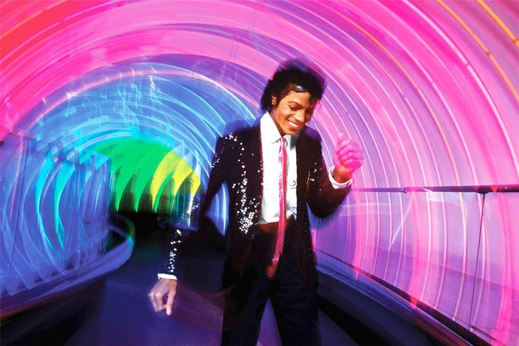 Michael Jackson at Epcot Center, 1984