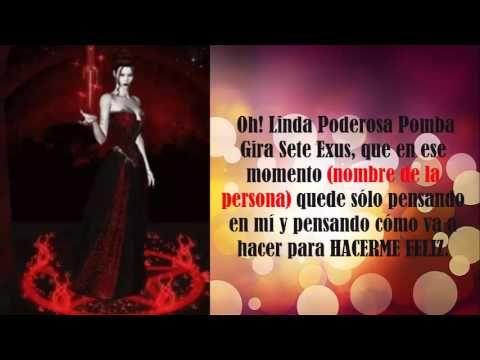 Maria Padilha, Poderosa Oracion de Dominio y amarre