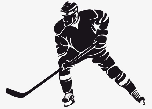 Hockey Player Hockey Clipart Puck Hockey Png And Vector With Transparent Background For Free Download Hockey Players Hockey American Football Players