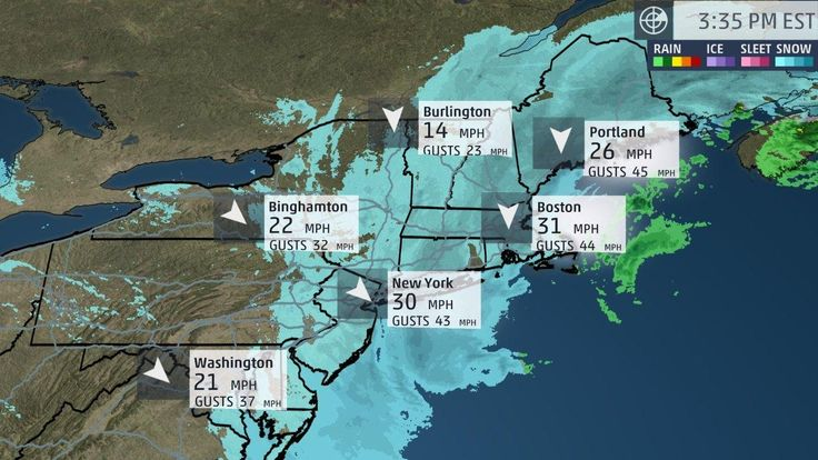Winter Storm Grayson - Current Radar and Conditions