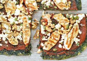 SweetAsHoney NZ | Low Carb Spinach Pizza Crust - SweetAsHoney NZ