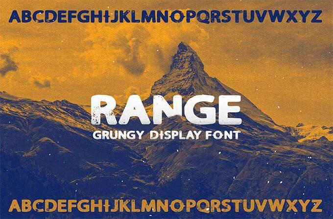 Range Sans Display Font