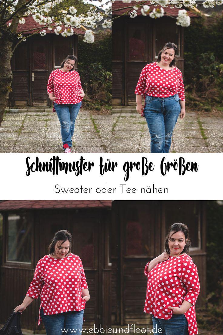 Einfachen Sweater nähen mit Alles für Selbermacher – 1 Pullover 2 Styles