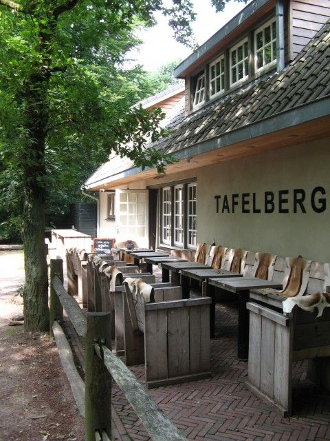 Restaurant Tafelberg, Blaricum, Noord-Holland.
