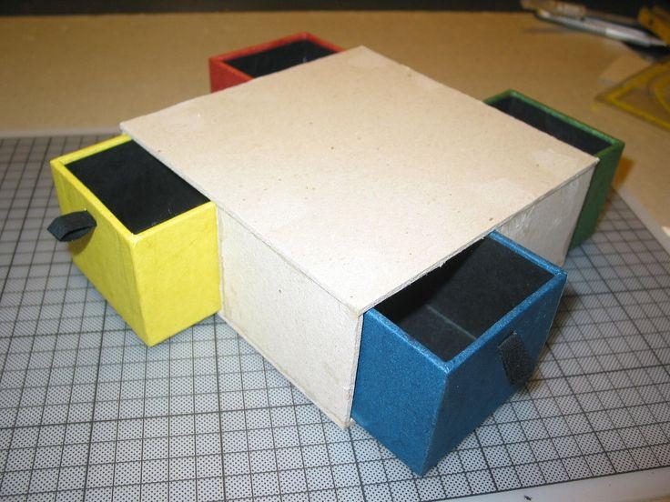 Mejores 51 imágenes de cajas en Pinterest | Cartonaje, Cajas y ...