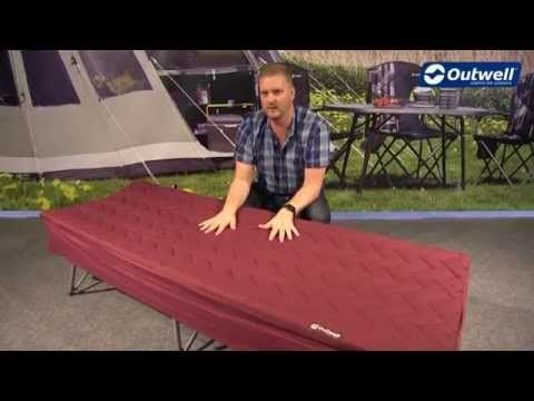 Outwell Centuple Camp Bed Sleep System | Innovative Family Camping