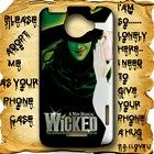 Wicked Musical Theatre HTC One X Case Full Wrap #HTCOne #HTCOneX #PhoneCase #HTCOneCase #HTCOneXCase