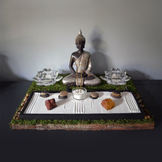 Meditation Altars For Sale: 25 Best Decor Ideas With Buddha Statues Images On