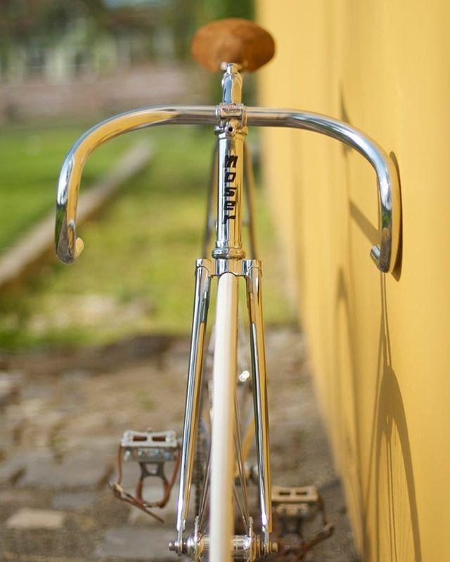 Moser #francesco#moser#chrome#track#bike#pista#fixie#vintagofbikes