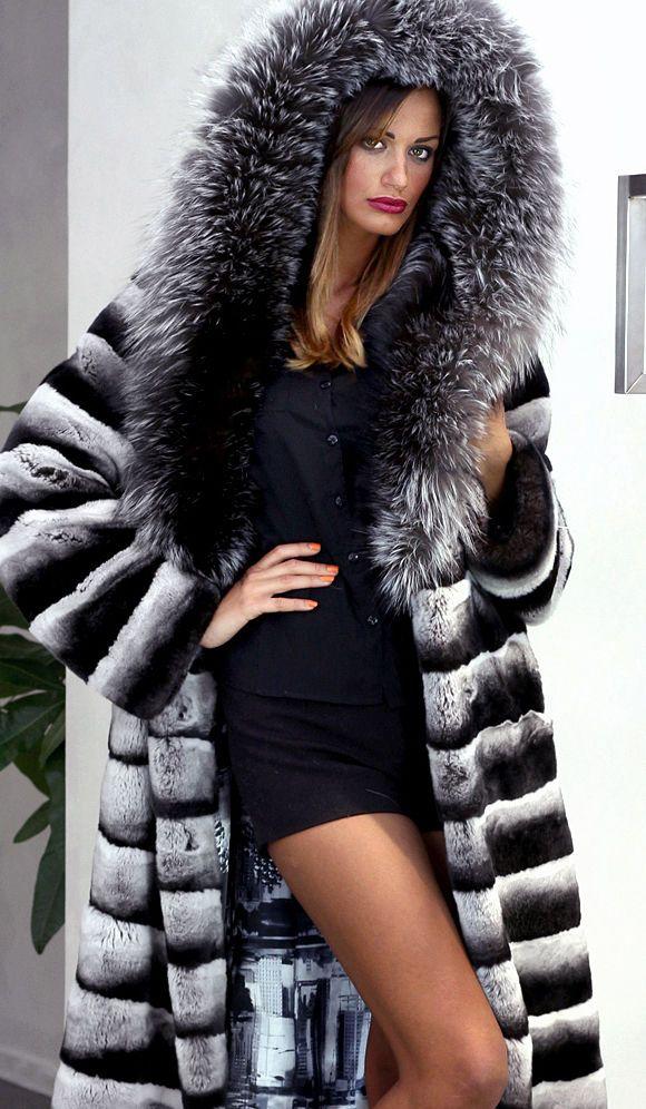 Pelz Pelzmantel Mantel Orylag Jacke FUR Coat Jacket Silberfuchs Pelliccia МЕХ | eBay
