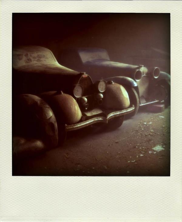 14. Terk edilmiş Bugattiler