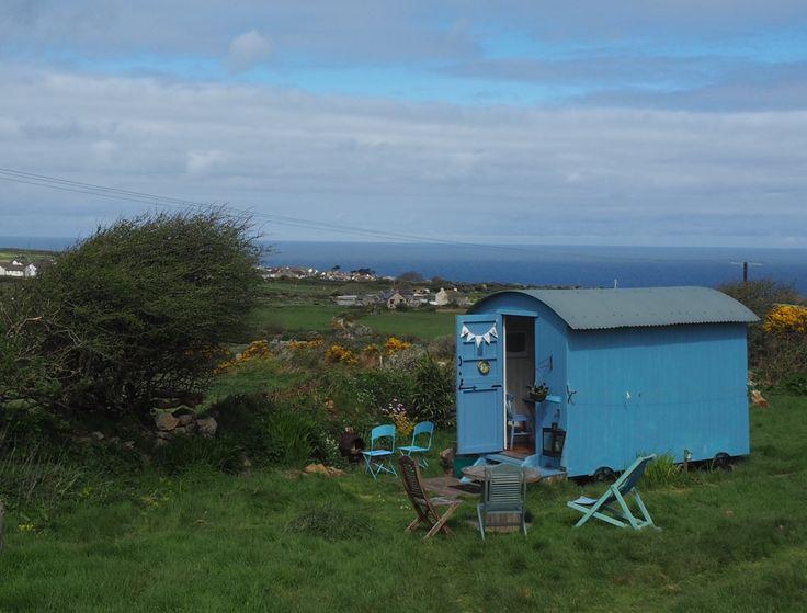 St Ives Shepherd Huts, St Ives, Cornwall. England. UK. Holiday. Accommodation. Glamping. Shepherds Huts. Hot Tub. Glampsite. Coastal. Countryside.