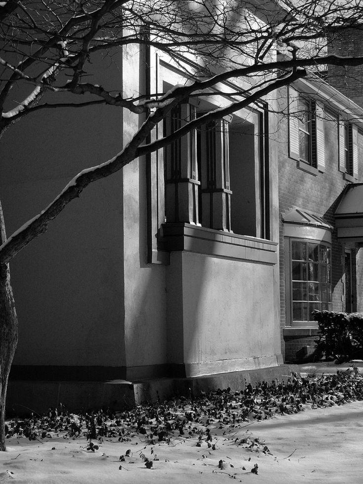 William G. Fricke house. 1901. Oak Park, Chicago. Prairie Style. Frank Lloyd Wright