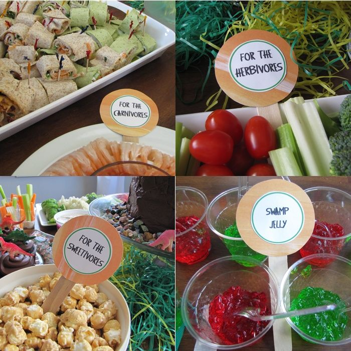 Dinosaur 2nd Birthday Food Ideas