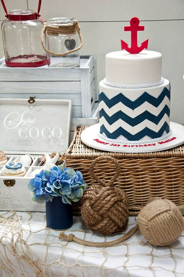 Sailor Inspired Party