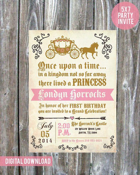 Einmal Prinzessin Geburtstag Party von madewithlovebyalesha auf Etsy