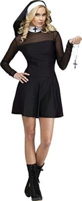 GTH Womens Catholic Nun Habit Robe Sexy Sister Religious Fancy Costume    An ideal attractive nun gown! Black get dressed with dependancy. Jewellery and sneakers no longer incorporated. Logo New Synthetic By means of Funworld Formally Authorized Product  The post GTH Womens Catholic Nun Habit Robe Sexy Sister Religious Fancy Costume appeared first on Halloween Costumes Best.  #nun #halloween #costume