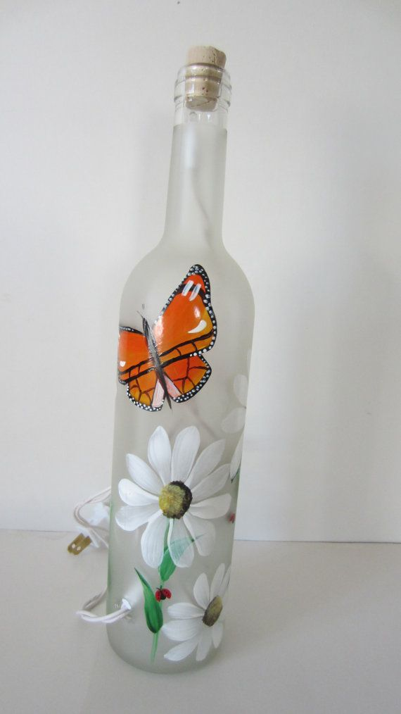 Butterfly Daisy Lady Bug Frosted Lighted by