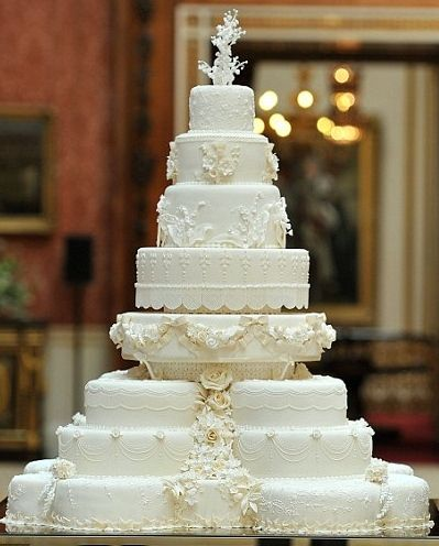 The Royal wedding cake - how exquisite!
