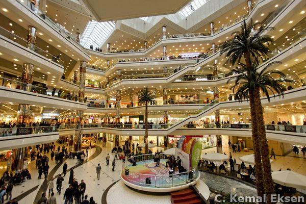 Cevahir shopping mall, Istanbul