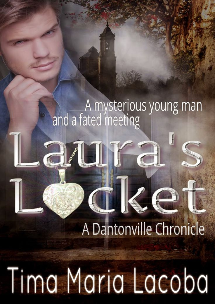 Here's the updated cover for Laura's Locket, with our anti-hero, Philippe.