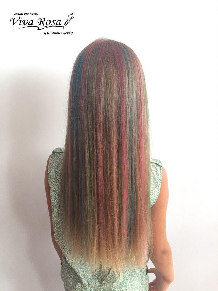 Окрашивание волос в яркие смелые цвета – это одно из последних модных веяний. Однако не каждый готов пойти на такой шаг и выкрасить прическу в розовый или синий цвет, ведь в таком образе можно появиться не везде и не всегда. Чтобы иметь волосы смелых и неестественных оттенков, сегодня не обязательно краситься стойкими красками, для подобных экспериментов были придуманы мелки для волос.  Преимущества мелков: не токсичны не повреждают структуру волос позволяют за несколько минут кардинально…