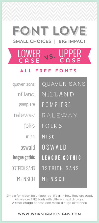 10 FREE Simple Fonts, Lowercase \ Uppercase Examples Typography   Smallest  Font For Resume  Smallest Font For Resume