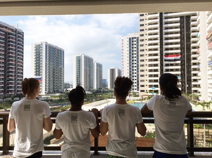 View from the athletes village ❤️ #Riobound