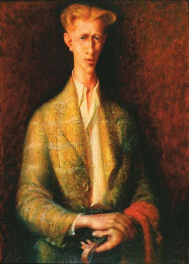 The Strapper 1941 Sir William Dobell - there was a print of this in our shed when I was growing up. Still one of my favourite works