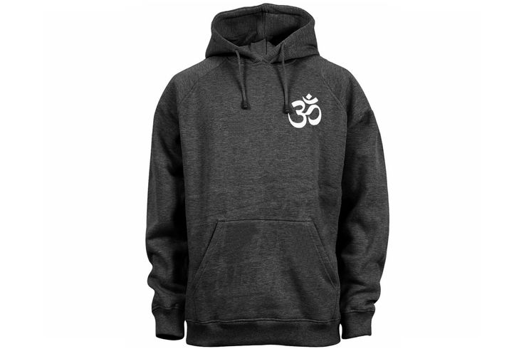 Ohm man/women/junior dark heather gray pullover hoodie-yoga symbols wear by mycooltshirt on Etsy