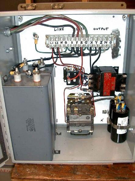 single phase to 3 phase converter wiring diagram