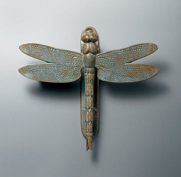 Dragonfly Door Knocker eclectic outdoor decor http://www.restorationhardware.com/catalog/product/product.jsp?productId=prod1310009=cat1463018