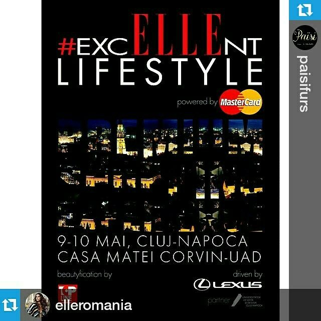 Start for #CaravanaELLE, first stop: Cluj!! Book 9-10 May!  Meet #Paisi in #Cluj for a special #excELLEntLifestyle event and a premium shopping experience! #Paisifurs in #ClujNapoca ❤  #Repost @elleromania #CaravanaELLE brings you some of the best brands in Bucharest to your doorstep and the #ElleTeam will be there to help you shop! All the details on www.elle.ro #Paisi #furs #burberry #emporioarmani #karenmillen #lancel #louispurple #bonpoint #gerarddarel #maxmaraweekend #marinarinaldi…