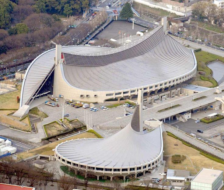 丹下健三 Kenzo Tange 代々木 第二体育館 第一体育館 1964