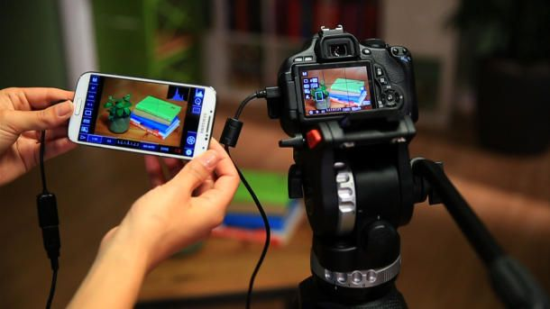Learn how to control a dSLR camera with your Android phone or tablet