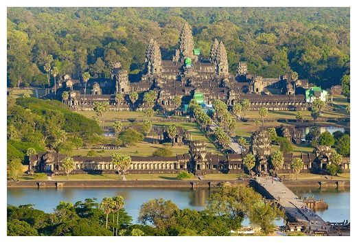 Ancient City of Angkor much bigger than thought - Angkor, the ancient capital of the Khmer Empire, has been mapped for the first time using laser light. The technique called LIDAR, which uses billions of reflected light beams to map the topography below a thick forest canopy, revealed that the city was even more massive than previously thought.