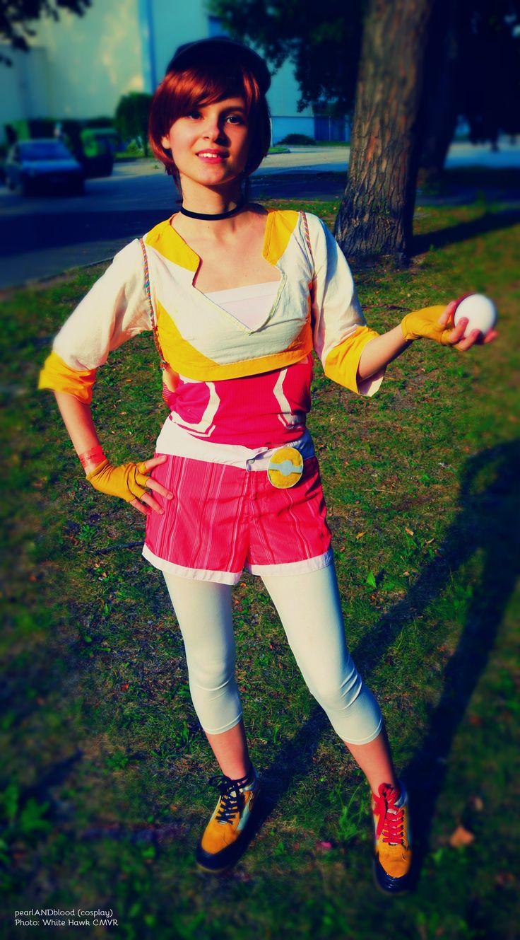 Pokemon GO Trainer cosplay: Cosplayer, makeup, photo editor: pearlANDblood. Photographer: White Hawk CMVR https://www.facebook.com/White-Hawk-CMVR-103669193531345/ #pokemon #pokemongo #trainer #team #instinct #teaminsinct #cosplay #psyduck #app #application #fun #virtualreality